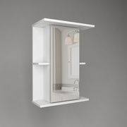 Шкаф-зеркало в ванную комнату
